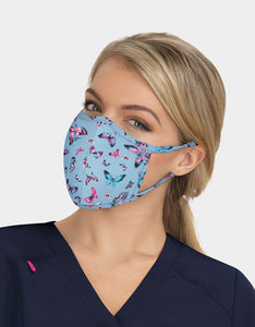 FASHION FACE MASK SET BLUE MULTI