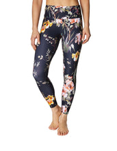PRINTED SIDE PINTUCK LEGGING MULTI - APPAREL - Betsey Johnson