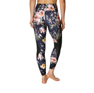 PRINTED SIDE PINTUCK LEGGING MULTI