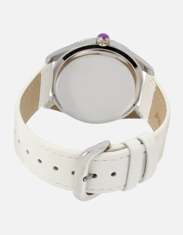 PRISMATIC DREAMS WATCH WHITE - JEWELRY - Betsey Johnson