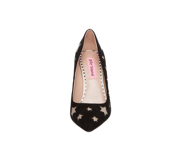 PRYCE BLACK MULTI - SHOES - Betsey Johnson