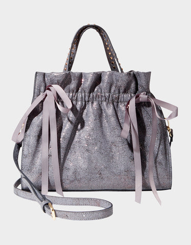 PUCKER UP SATCHEL GREY