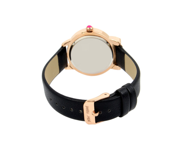 PURRFECT PRINCESS KITTY BLACK WATCH BLACK - JEWELRY - Betsey Johnson