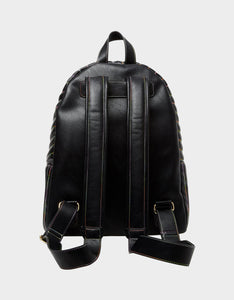 RAINBOW CHAIN BOW BACKPACK BLACK