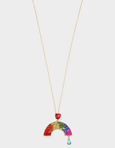 RAINBOW RETRO PENDANT RAINBOW MULTI