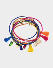 RAINBOW RETRO TASSEL HAIR TIE SET RAINBOW MULTI - JEWELRY - Betsey Johnson
