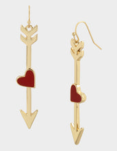 RED HOT ARROW EARRINGS RED - JEWELRY - Betsey Johnson