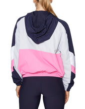 RETRO COLORBLOCKED JACKET MULTI - APPAREL - Betsey Johnson
