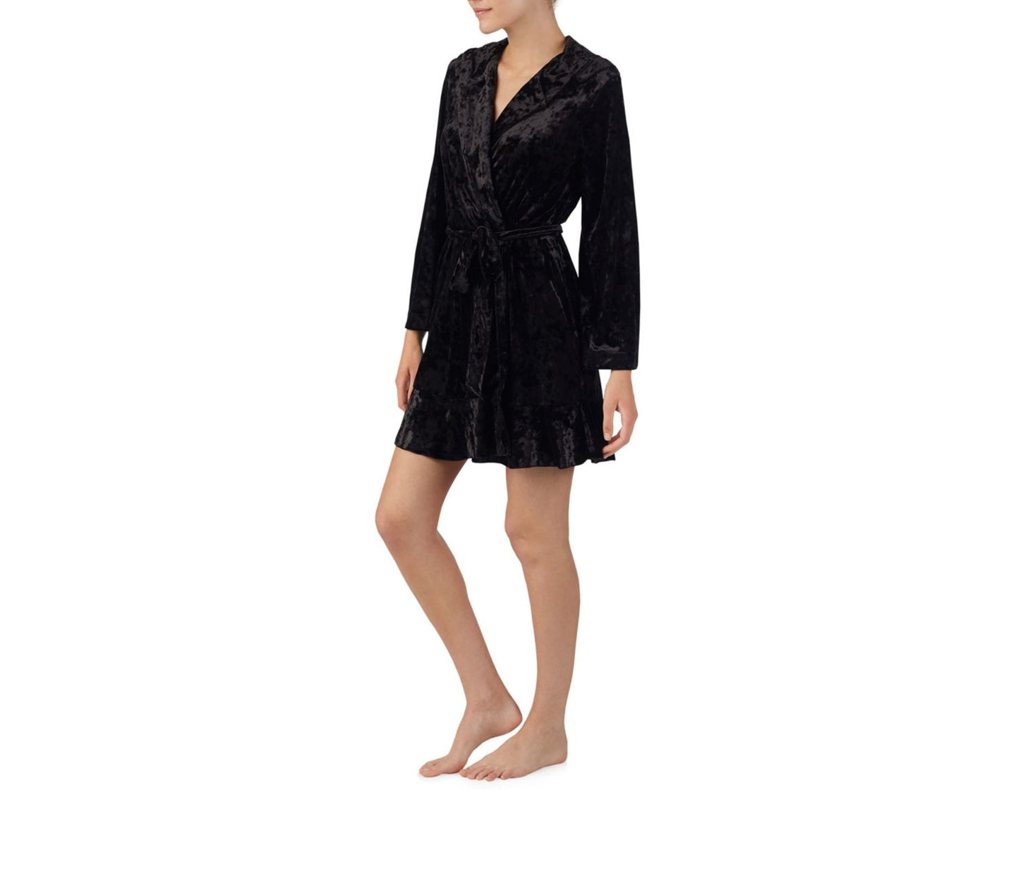 ROCK AND ROLL ROBE BLACK - APPAREL - Betsey Johnson