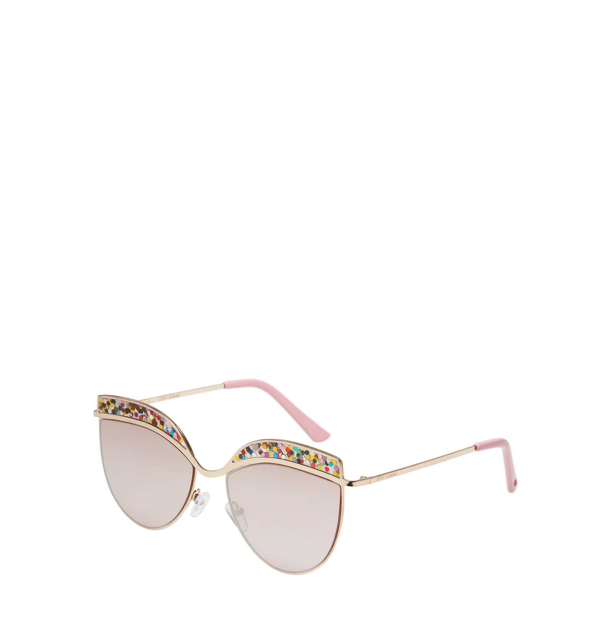 be94c3d5c7 ... ROCK CANDY CAT EYE SUNGLASSES GOLD - ACCESSORIES - Betsey Johnson ...