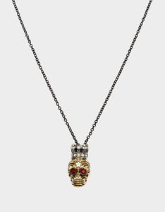 ROCKIN RICHES SKULL PENDANT MULTI