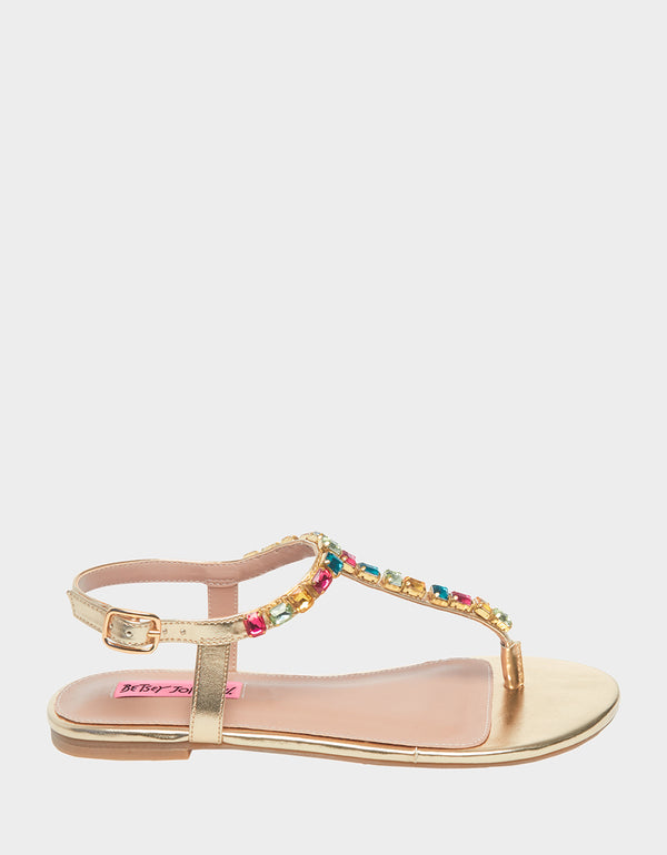 ROMEE GOLD - SHOES - Betsey Johnson