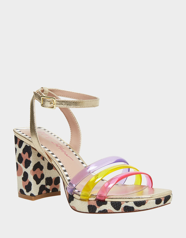 RONI BRIGHT MULTI - SHOES - Betsey Johnson