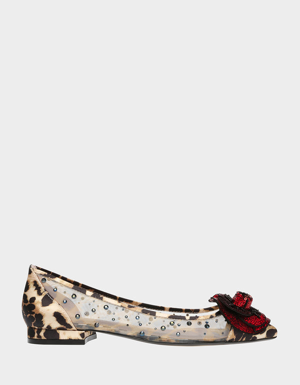 RORY-BJ LEOPARD - SHOES - Betsey Johnson