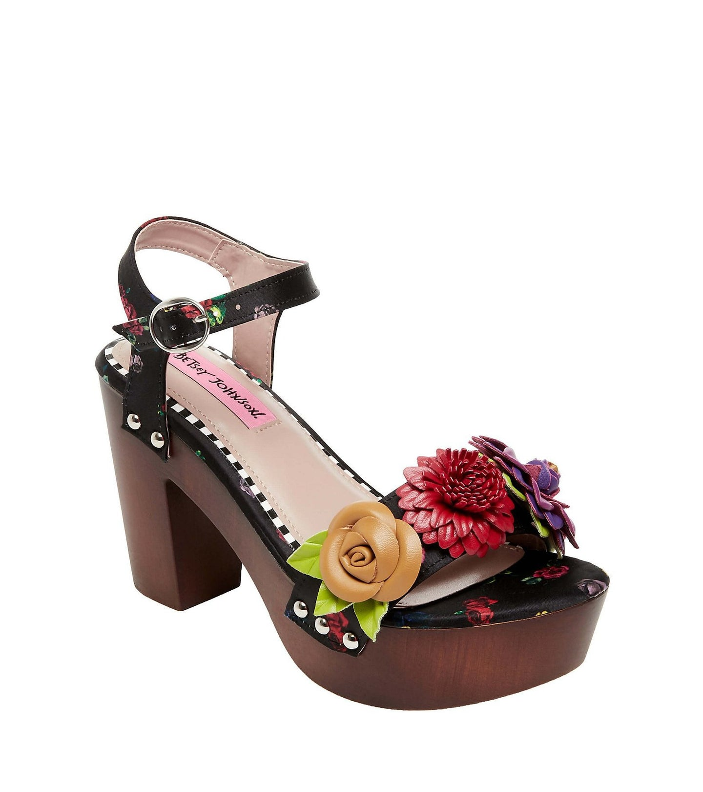 ROSEE BLACK MULTI - SHOES - Betsey Johnson