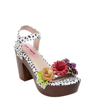 ROSEE WHITE MULTI - SHOES - Betsey Johnson