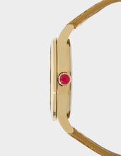 ROUND AND ROUND LEOPARD WATCH GOLD - JEWELRY - Betsey Johnson
