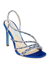SB-ACES BLUE SATIN - SHOES - Betsey Johnson