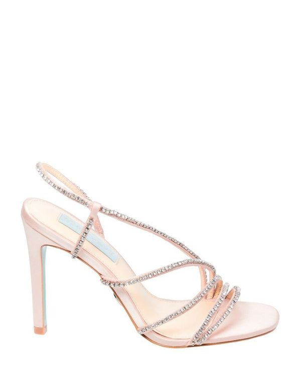 SB-ACES BLUSH SATIN - SHOES - Betsey Johnson