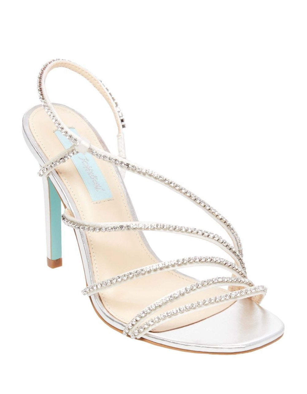 SB-ACES SILVER METALLIC - SHOES - Betsey Johnson
