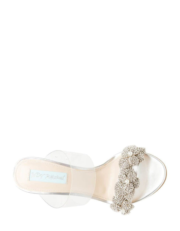 SB-ADEL SILVER METALLIC - SHOES - Betsey Johnson