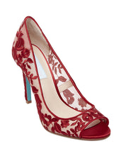 SB-ADLEY RED FABRIC - SHOES - Betsey Johnson
