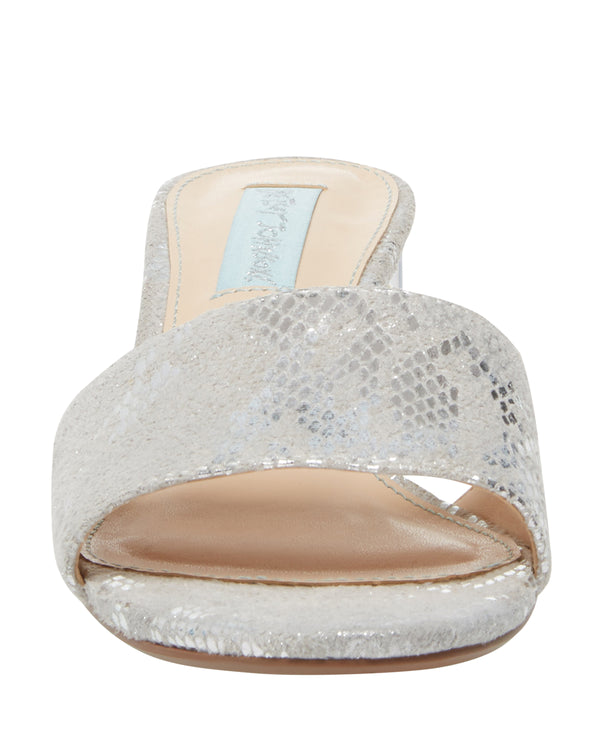 SB-ALANI SILVER SNAKE - SHOES - Betsey Johnson