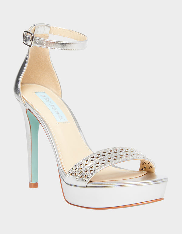 SB-ALMA SILVER - SHOES - Betsey Johnson