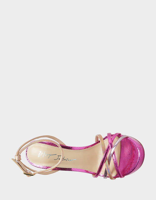 SB-AVAH FUCHSIA MULTI - SHOES - Betsey Johnson