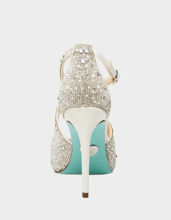 SB-BAYLI SILVER - SHOES - Betsey Johnson