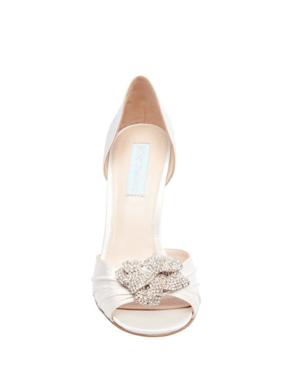 SB-BRIAR IVORY SATIN - SHOES - Betsey Johnson