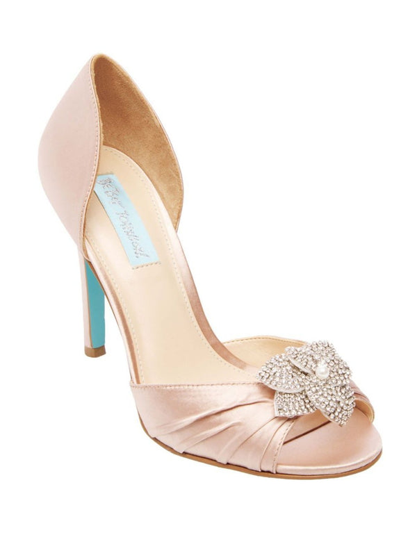 SB-BRIAR NUDE SATIN - SHOES - Betsey Johnson