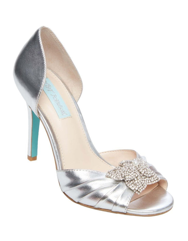 SB-BRIAR SILVER METALLIC - SHOES - Betsey Johnson