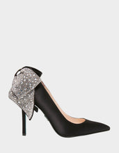 SB-BRYN BLACK SATIN - SHOES - Betsey Johnson