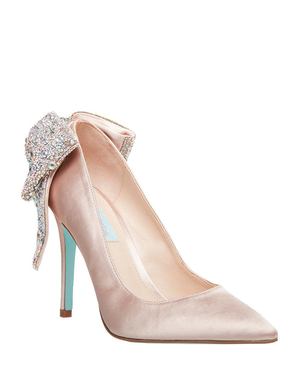 SB-BRYN NUDE SATIN - SHOES - Betsey Johnson