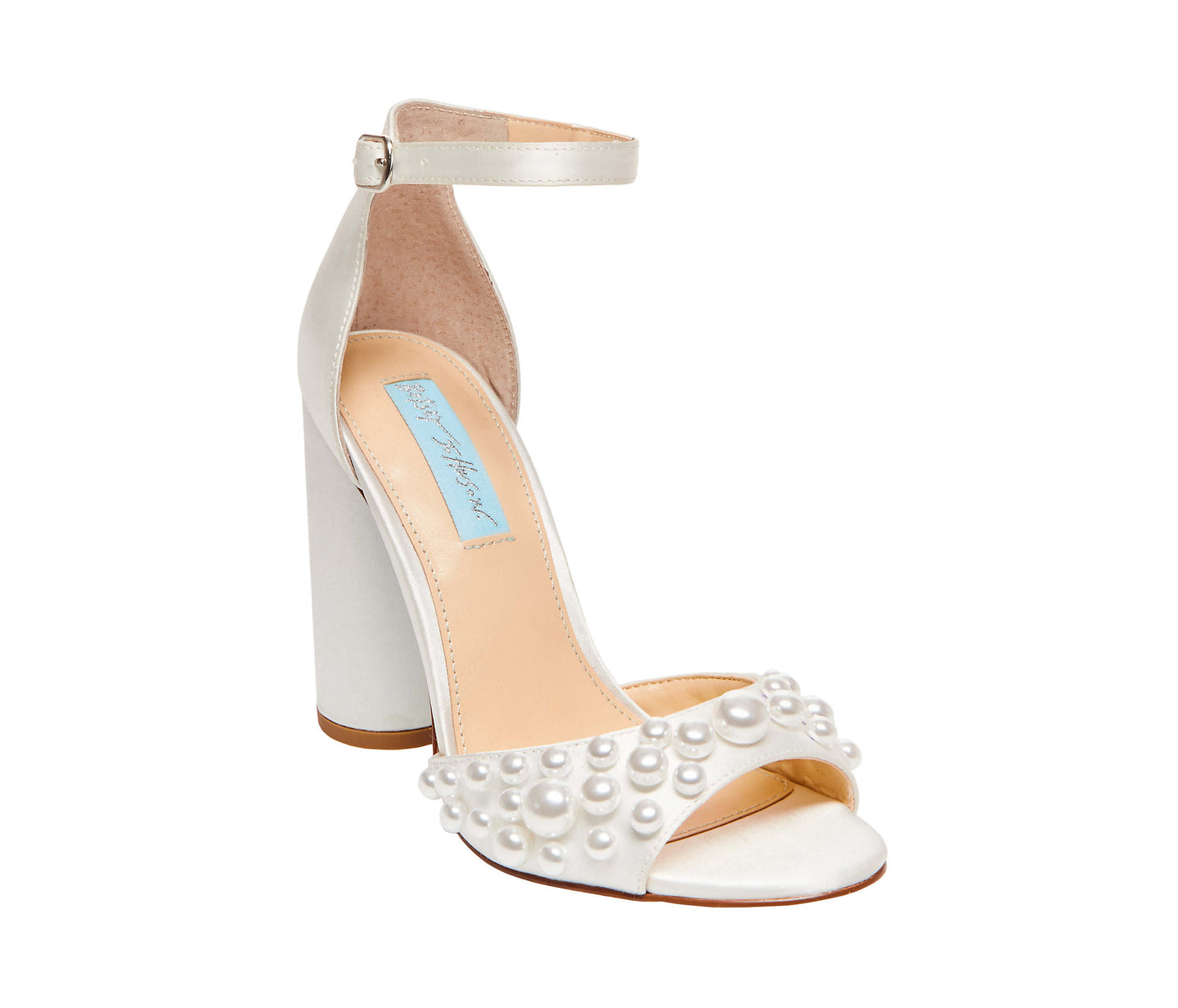 SB-CARA IVORY SATIN - SHOES - Betsey Johnson