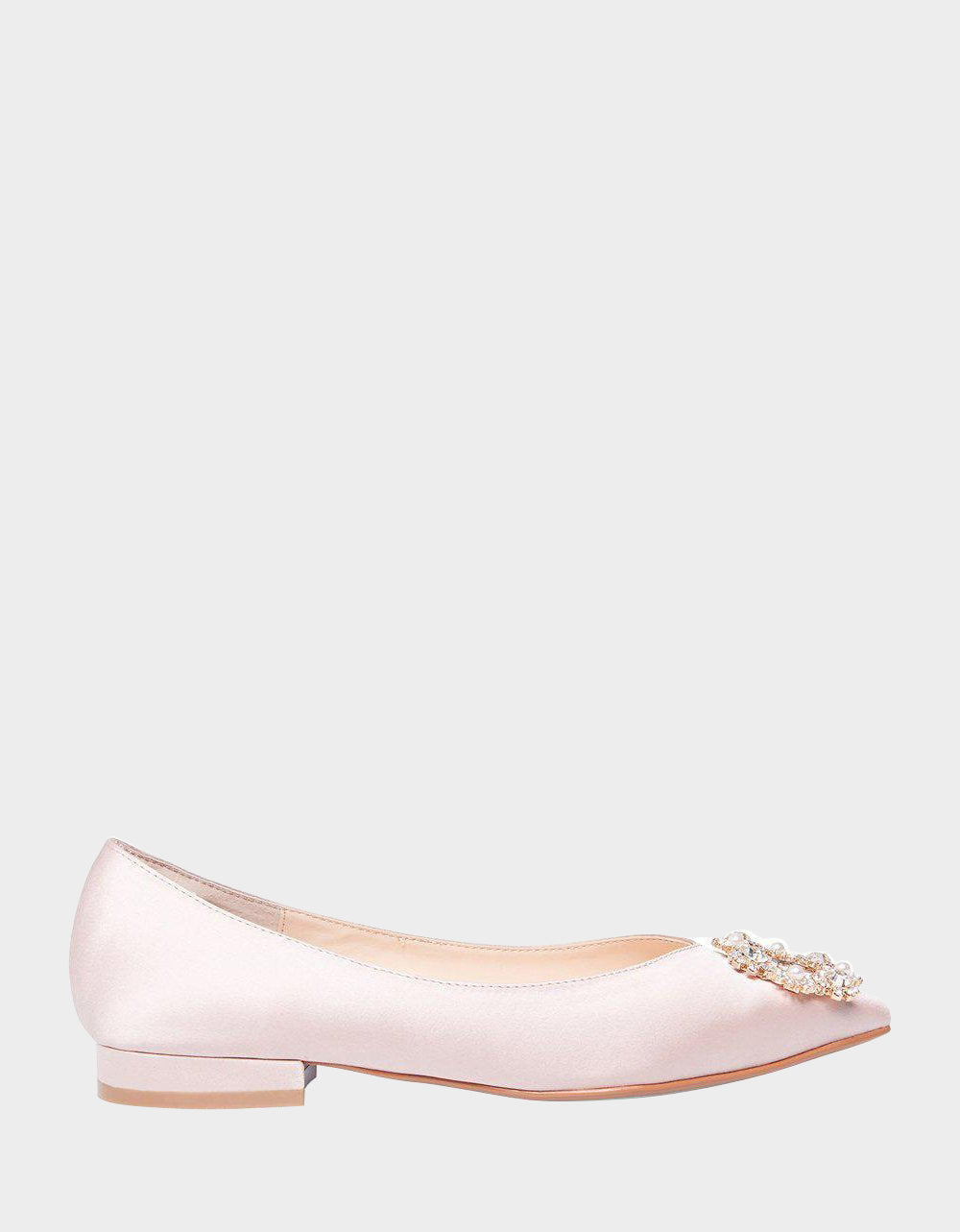 SB-DIANA NUDE SATIN - SHOES - Betsey Johnson