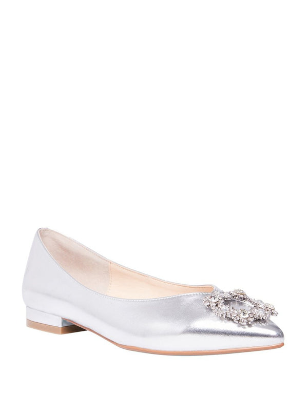SB-DIANA SILVER METALLIC - SHOES - Betsey Johnson