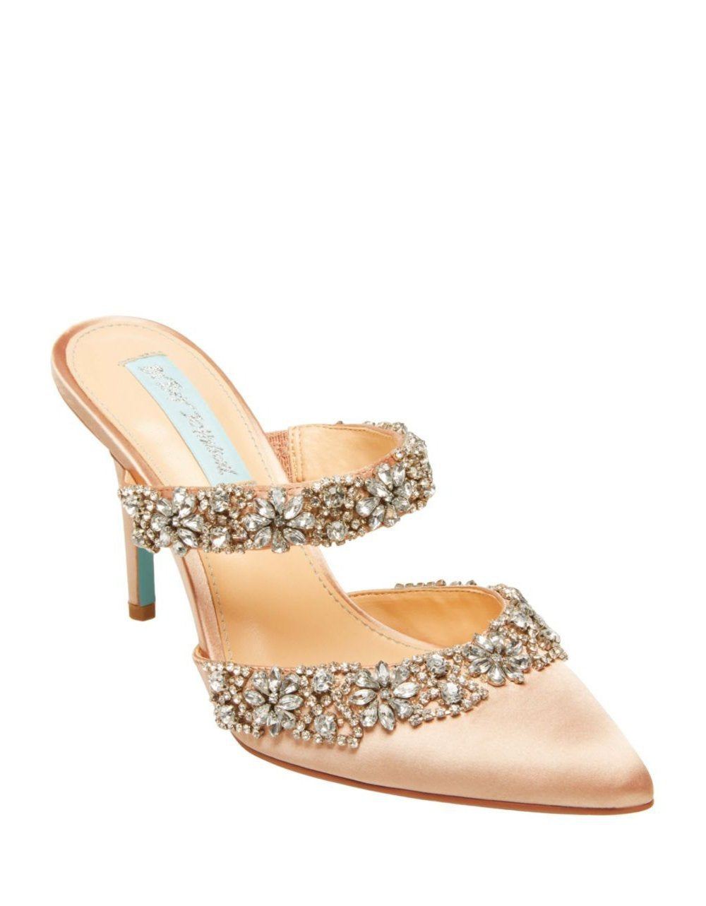 SB-ELINA NUDE SATIN - SHOES - Betsey Johnson