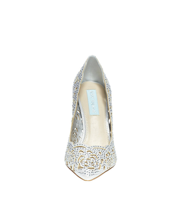 SB-ELSA SILVER FABRIC - SHOES - Betsey Johnson