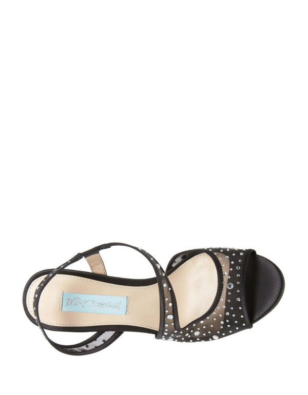 SB-FEY BLACK SATIN - SHOES - Betsey Johnson