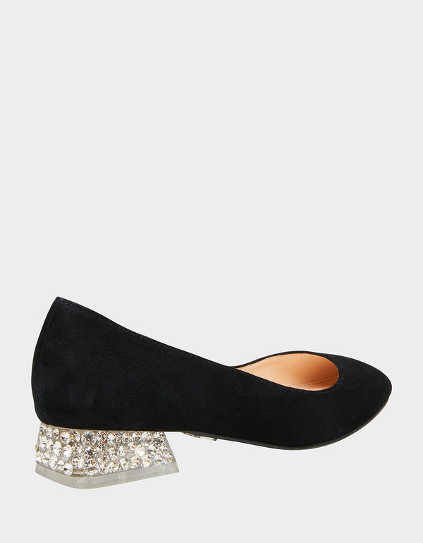 SB-FRIDA BLACK SUEDE - SHOES - Betsey Johnson
