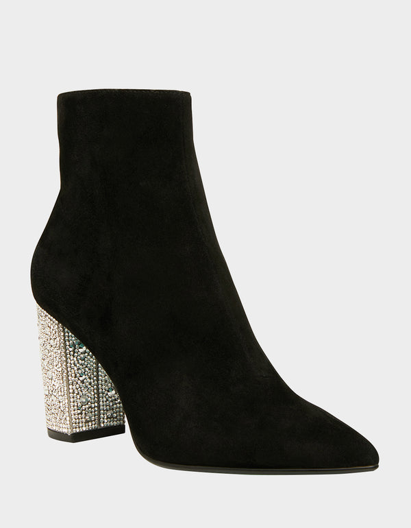 SB-GEMMA BLACK SUEDE - SHOES - Betsey Johnson
