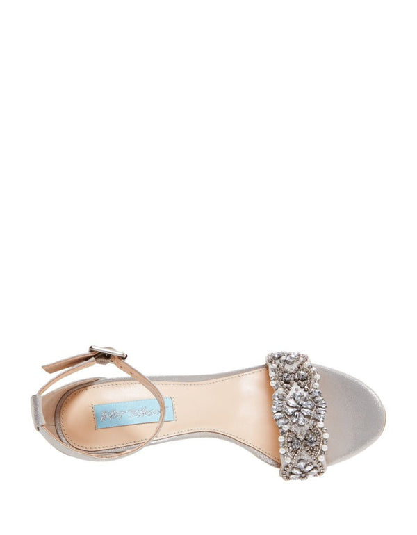 SB-GINA SILVER - SHOES - Betsey Johnson