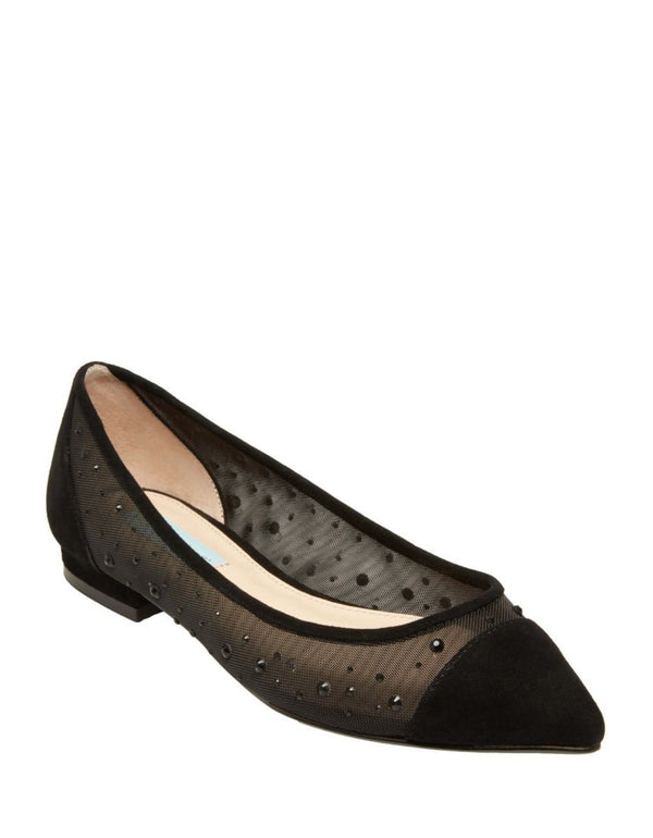 SB-GRACY BLACK SUEDE - SHOES - Betsey Johnson