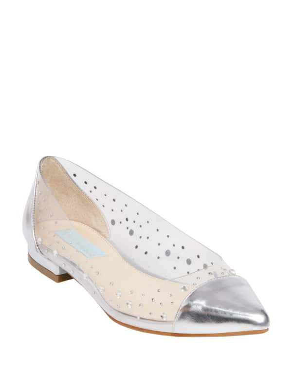 SB-GRACY SILVER - SHOES - Betsey Johnson