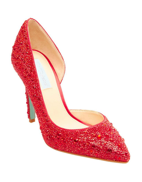 SB-HAZIL RED - SHOES - Betsey Johnson