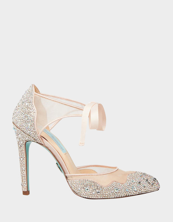 SB-IRIS CHAMPAGNE - SHOES - Betsey Johnson