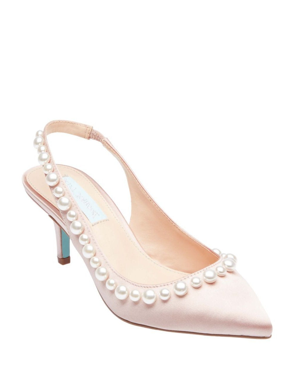 SB-ISA NUDE SATIN - SHOES - Betsey Johnson