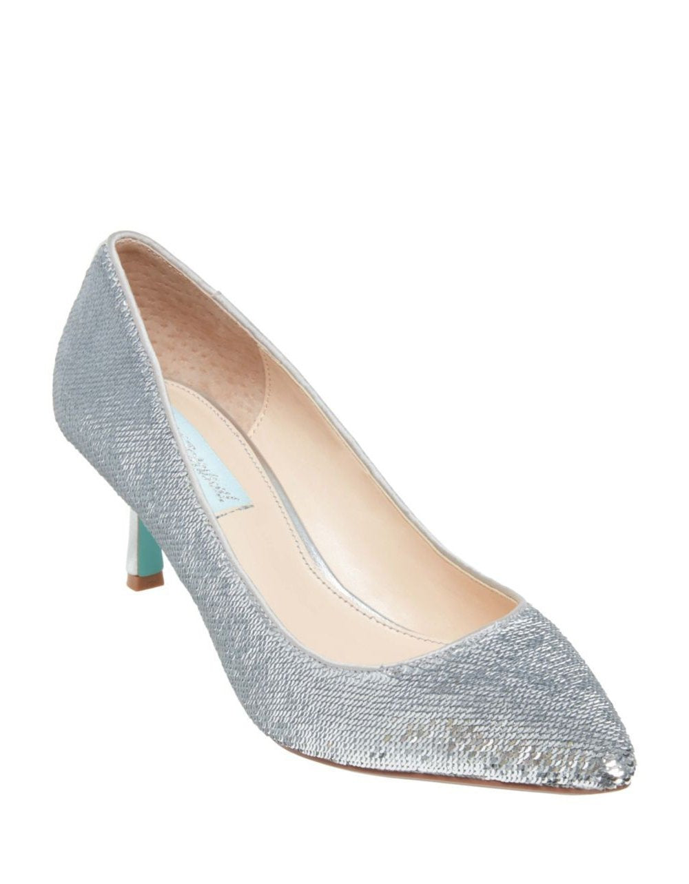 SB-KAMIE SILVER SEQUIN - SHOES - Betsey Johnson